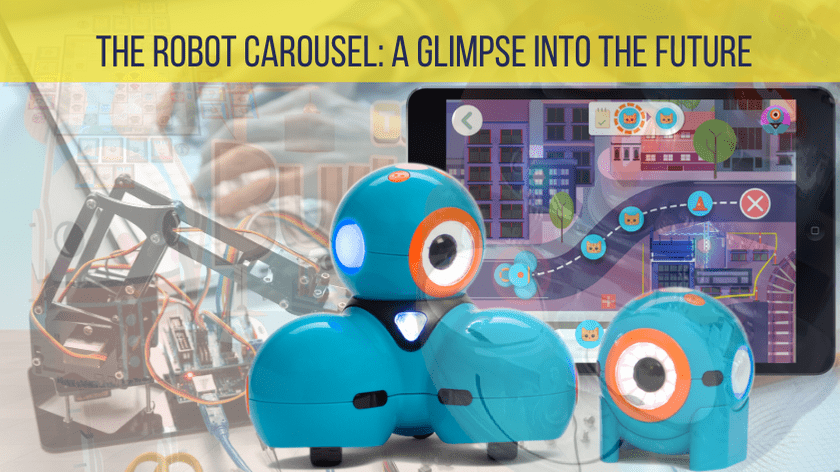 The Robot Carousel: A Glimpse into the Future