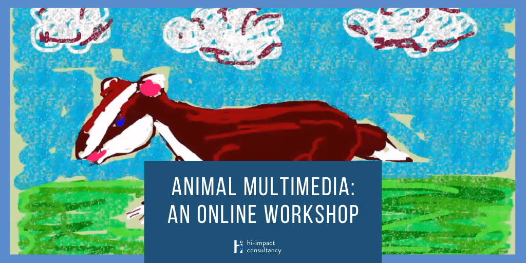 Animal Multimedia: An Online Workshop