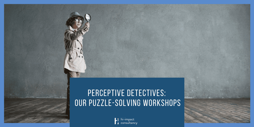 Perceptive Detectives: Our Puzzle-solving Workshops