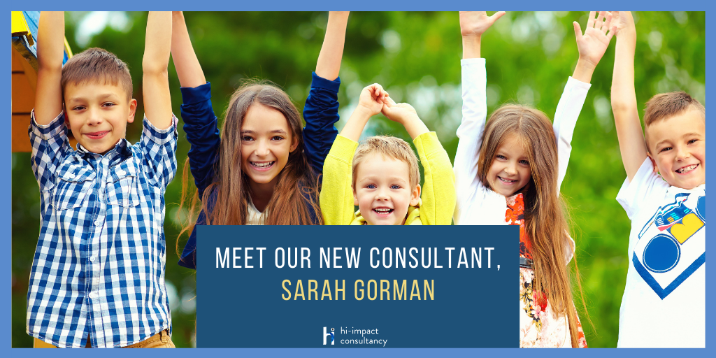 Meet Our New Consultant, Sarah Gorman